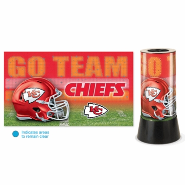 Kansas City Chiefs Rotating Lamp