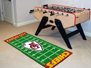 Kansas City Chiefs Runner Rug