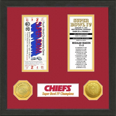Kansas City Chiefs Kansas City Chiefs SB Championship Ticket Collection