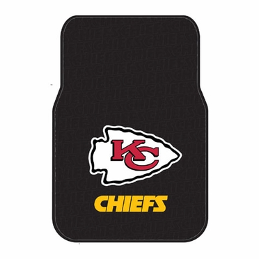Kansas City Chiefs Set of Rubber Floor Mats