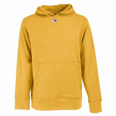 Kansas City Chiefs Mens Signature Hooded Sweatshirt (Alternate Color: Gold)