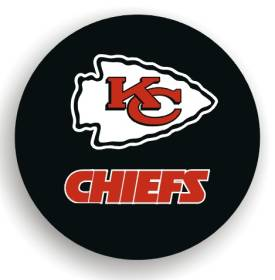 Kansas City Chiefs Spare Tire Cover (Small Size)