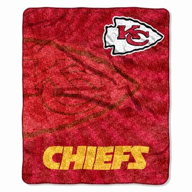 Kansas City Chiefs Super-Soft Sherpa Blanket