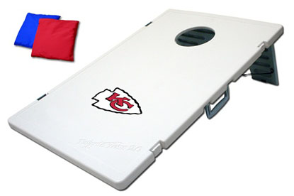 Kansas City Chiefs Tailgate Toss 2.0 Cornhole Beanbag Game