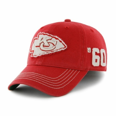 Kansas City Chiefs Throwback Badger Franchise Flex Fit Hat