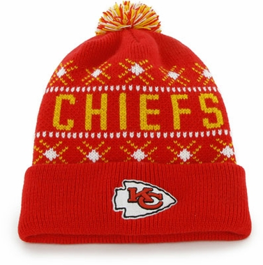 Kansas City Chiefs Tip Off Cuffed Knit Hat