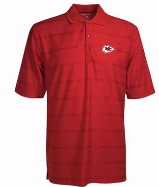 Kansas City Chiefs Mens Tonal Polo (Team Color: Red)