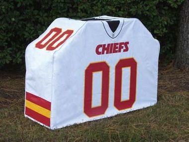 Kansas City Chiefs Uniform Grill Cover