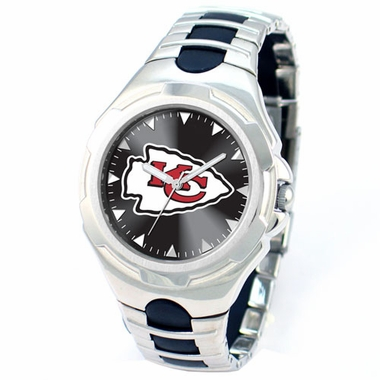 Kansas City Chiefs Victory Mens Watch