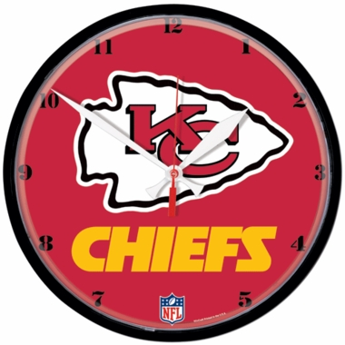 Kansas City Chiefs Wall Clock
