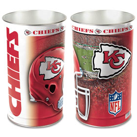 Kansas City Chiefs Waste Paper Basket