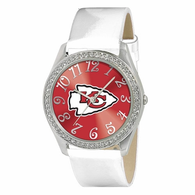 Kansas City Chiefs Women's Glitz Watch