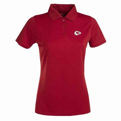 Kansas City Chiefs Womens Exceed Polo (Team Color: Red)