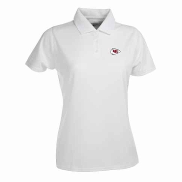 Kansas City Chiefs Womens Exceed Polo (Color: White)