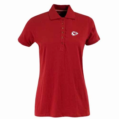 Kansas City Chiefs Womens Spark Polo (Team Color: Red)
