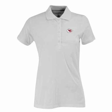 Kansas City Chiefs Womens Spark Polo (Color: White)
