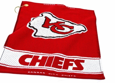 Kansas City Chiefs Woven Golf Towel