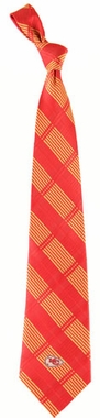 Kansas City Chiefs Woven Plaid Necktie