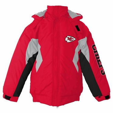 Kansas City Chiefs YOUTH Field Goal Midweight Jacket