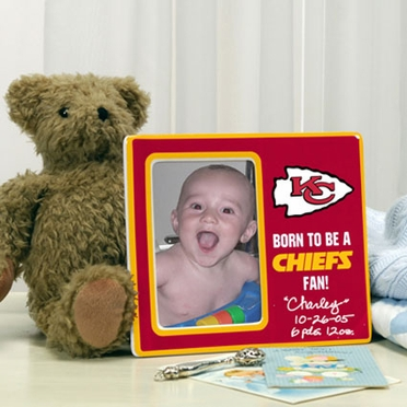 Kansas City Chiefs Youth Picture Frame