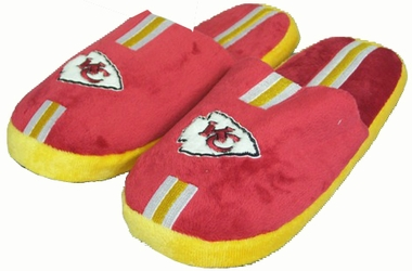 Kansas City Chiefs YOUTH Team Stripe Slide Slippers