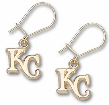 Kansas City Royals 10K Gold Post or Dangle Earrings
