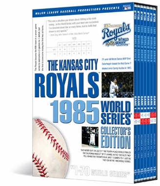 Kansas City Royals 1985 World Series Collector�s Edition DVD Set