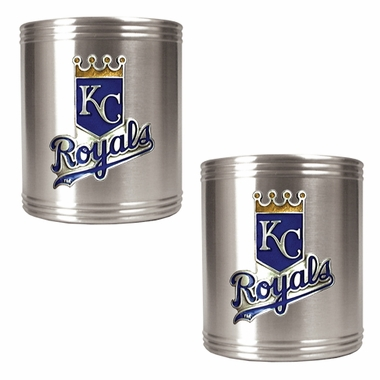Kansas City Royals 2 Can Holder Set