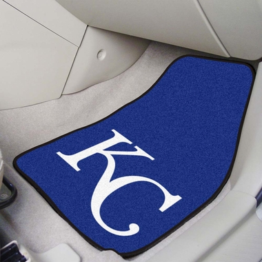 Kansas City Royals 2 Piece Car Mats