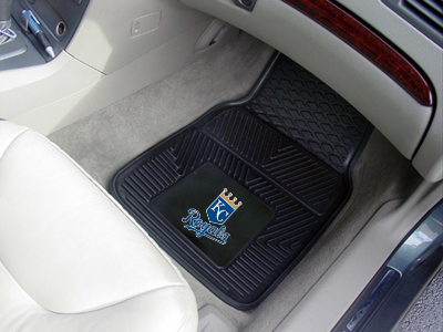 Kansas City Royals 2 Piece Heavy Duty Vinyl Car Mats