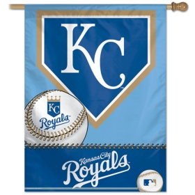 "Kansas City Royals 27"" x 37"" Banner"