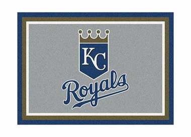 "Kansas City Royals 3'10"" x 5'4"" Premium Spirit Rug"