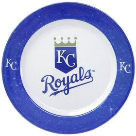 Kansas City Royals 4 Piece Dinner Plate Set