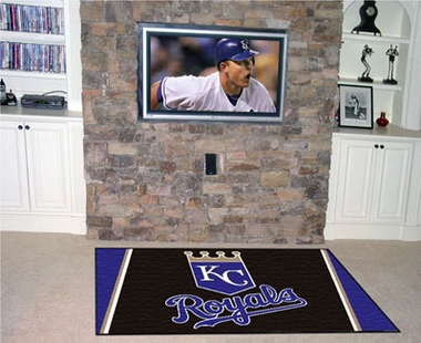 Kansas City Royals 5 Foot x 8 Foot Rug