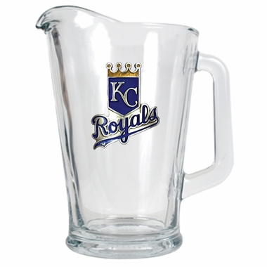 Kansas City Royals 60 oz Glass Pitcher