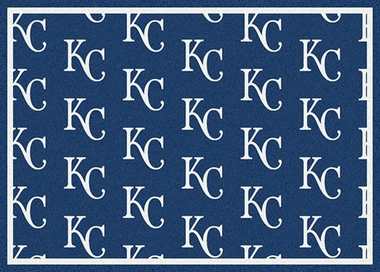 "Kansas City Royals 7'8 x 10'9"" Premium Pattern Rug"