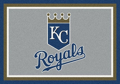 "Kansas City Royals 7'8"" x 10'9"" Premium Spirit Rug"