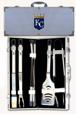 Kansas City Royals 8pc. BBQ Set w/Case