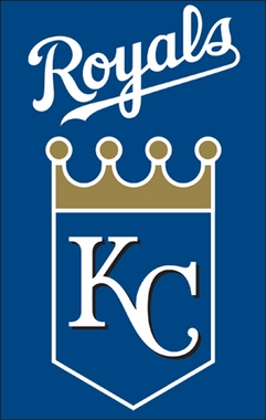 Kansas City Royals Applique Banner Flag