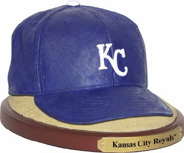 Kansas City Royals Ball Cap Figurine