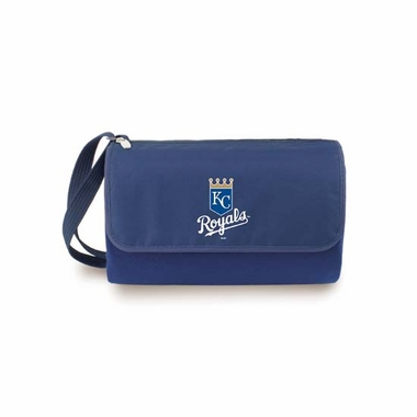 Kansas City Royals Blanket Tote (Navy)