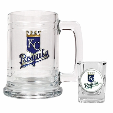 Kansas City Royals Boilermaker Set