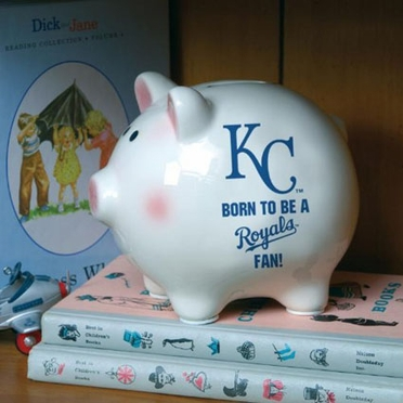 Kansas City Royals (Born to Be) Piggy Bank