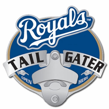 Kansas City Royals Bottle Opener Hitch Cover