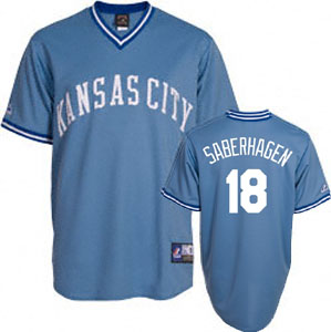 Kansas City Royals Bret Saberhagen Replica Throwback Jersey