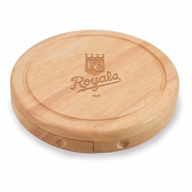 Kansas City Royals Brie Cheese Board