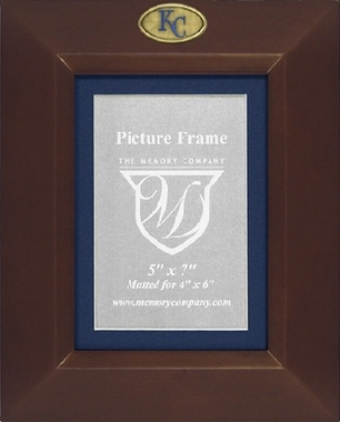 Kansas City Royals BROWN Portrait Picture Frame