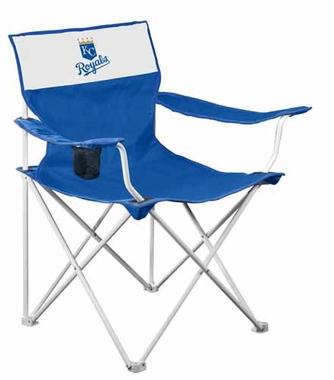 Kansas City Royals Canvas Adult Folding Logo Chair
