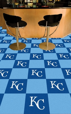 Kansas City Royals Carpet Tiles