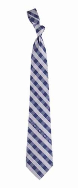 Kansas City Royals Check Poly Necktie